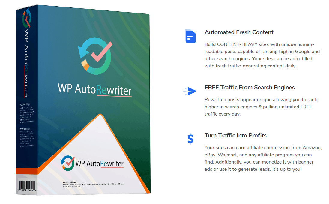 Photo of WP AutoRewriter Plugin – New WordPress Plugin Generates High-Quality Unique Content