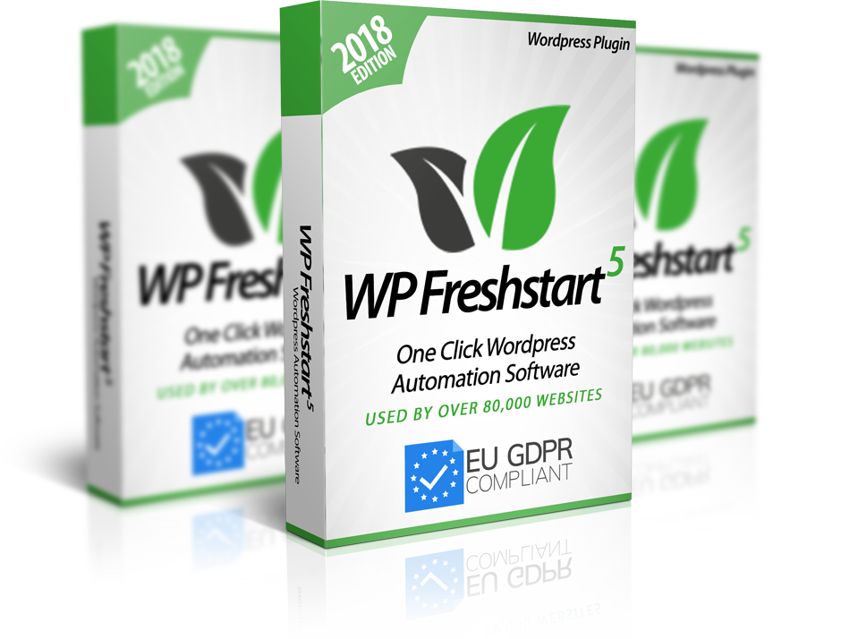 Photo of WP Freshstart 5 Plugin – Start Making You Money From Your Brand New Site in Just 2 Minutes