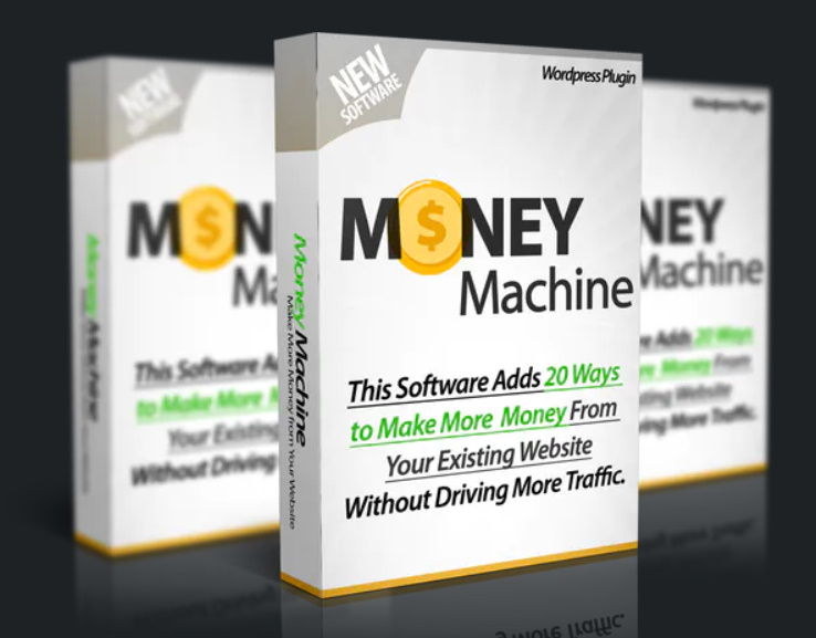 Photo of WP Money Machine Plugin – Adds 20 Money Machines to Your Site & Makes You More Money on Autopilot